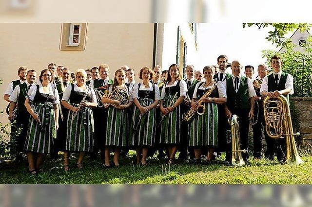Musikverein Britzingen zwischen Britzingen und Badenweiler