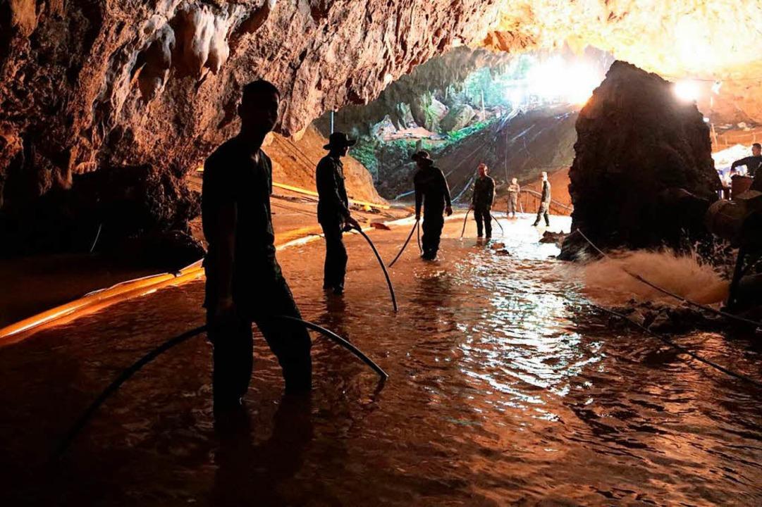 Höhlenunglück In Thailand