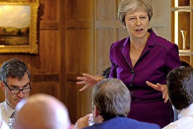 Mays neue Brexit-Vorschläge stoßen auf Skepsis
