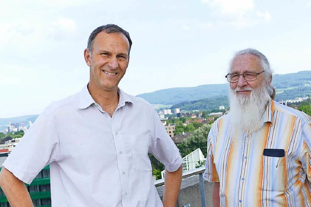 Andreas Stäheli und Bruno Jagher  | Foto: Kathrin Ganter