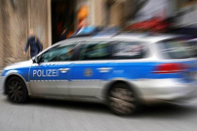 Verwirrte Frau löst in Lörrach einen Polizeieinsatz aus