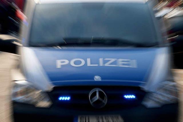 Einbrecher flüchten vor der Polizei