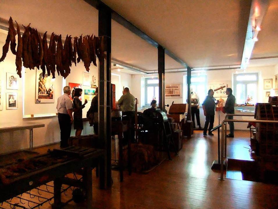 Blick in den Ausstellungsraum    Foto: privat