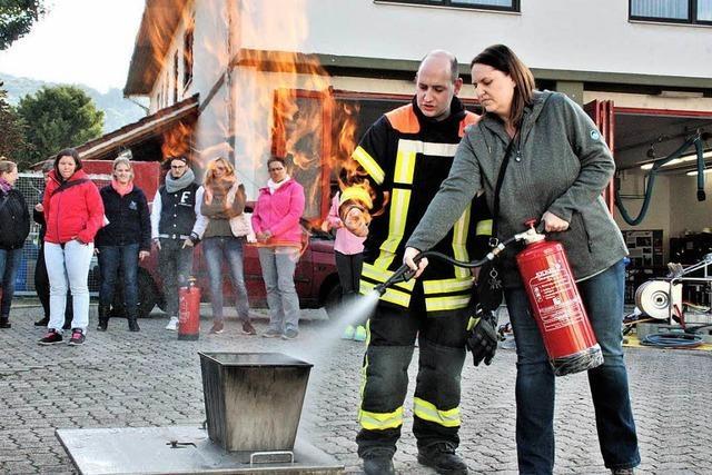 Feuerwehr geht in die Offensive