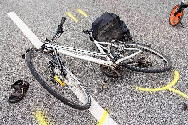 Radfahrer stürzt in Bad Säckingen auf der Bergseestraße und verletzt sich