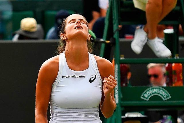 Angelique Kerber und Julia Görges im Viertelfinale von Wimbledon