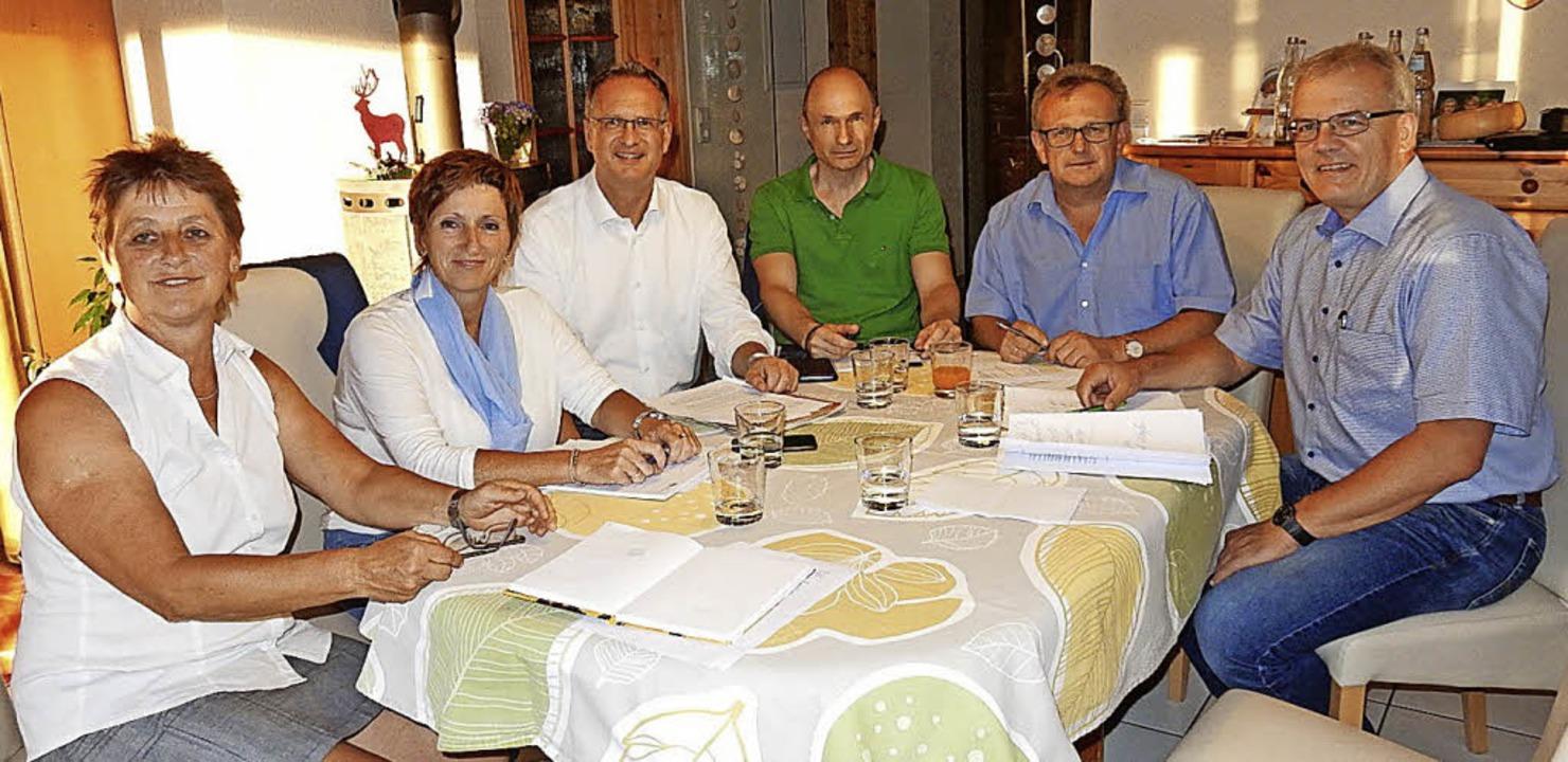 Wie geht's weiter mit der Elztal...Meier (SPD) und Dietmar Oswald (CDU).   | Foto: Meier