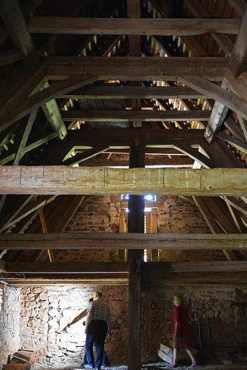 War hier eine Schatzkammer untergebrac...oss der Kapelle ist ungewöhnlich hoch.    Foto: Benedikt Sommer