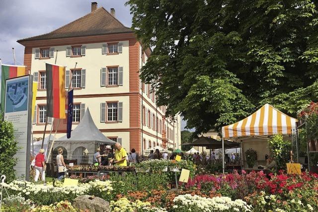 Gartenmesse DiGA von 13.-.15. Juli 2018 im Schloss Beuggen, Ticketverlosung