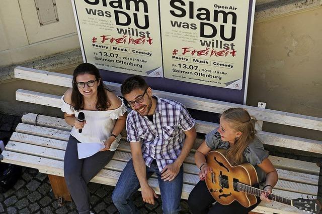 Der Freiheit ein Poetry Slam