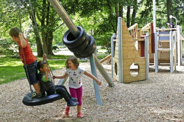 Kinderlachen im Kurpark