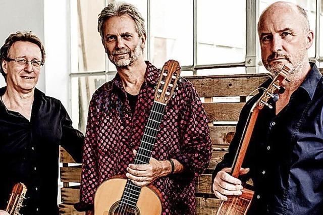 Das Gitarrentrio Cuadro Sur in Offenburg
