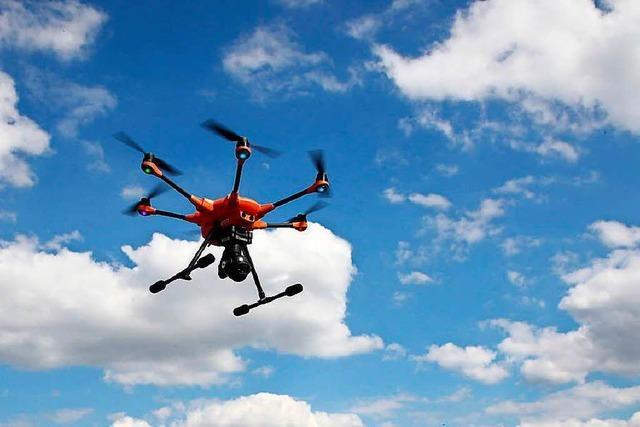 Warum der Drohnenflug über dem Europastadion illegal war