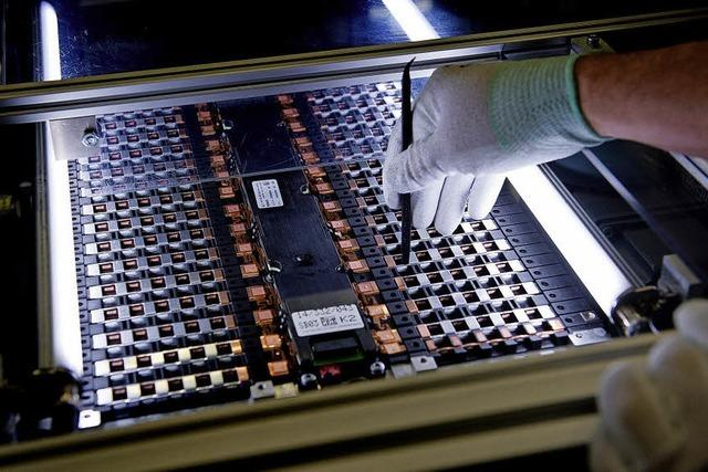 Chinesische Batteriezellen aus Erfurt
