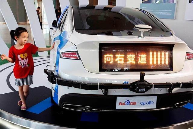Deutschland und China kooperieren bei autonomen Autos