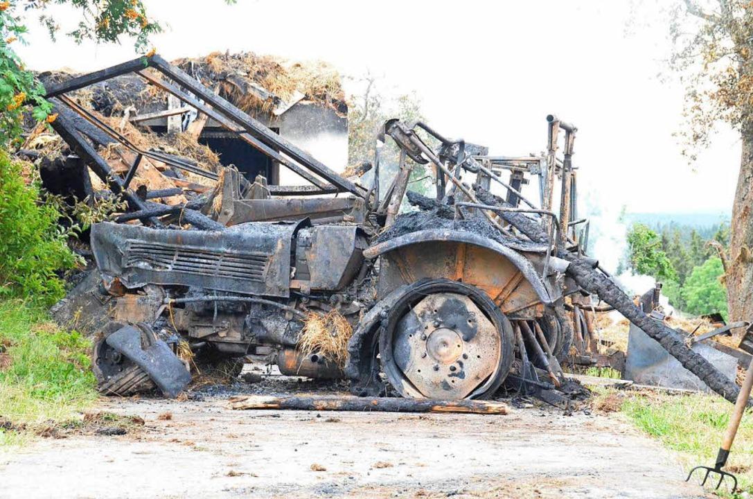 Top Feuer verursacht Millionenschaden - Höchenschwand - Badische Zeitung @EN_57