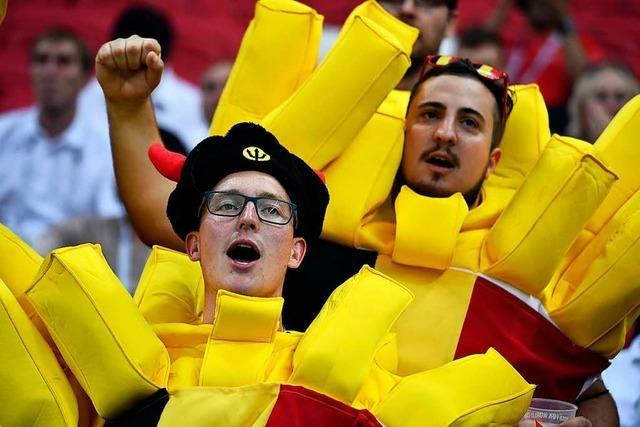 Die schönsten Fanfotos der Fußball-WM 2018