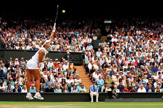 Angelique Kerber zieht ins Halbfinale von Wimbledon ein