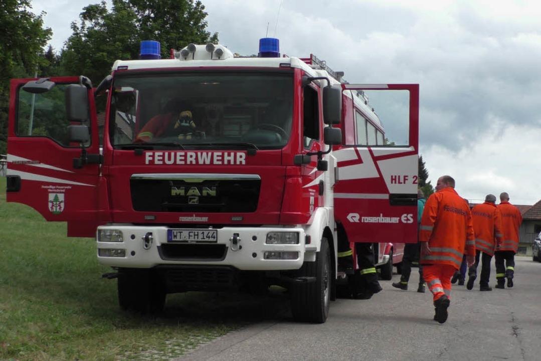Suchmaßnahmen rund um Herrischried  | Foto: kamera24.tv