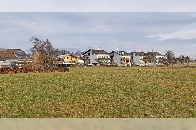 Gemeinde erschließt neues Bauland