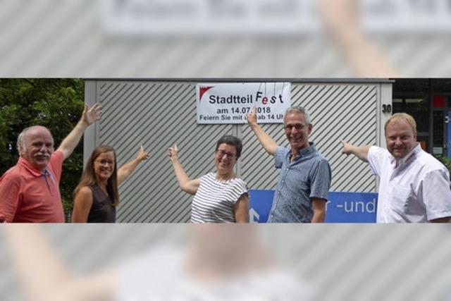 Die Südoststadt feiert ihr erstes großes Stadtteilfest