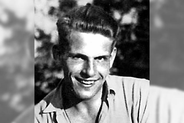 Alexander Schmorell, Mitglied der Weißen Rose, zum 75. Todestag, Referent: Prof. Dr. Peter Selg. In Breitnau