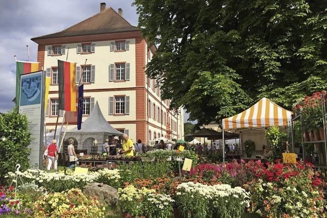 15. Diga Gartenmesse auf Schloss Beuggen bei Rheinfelden