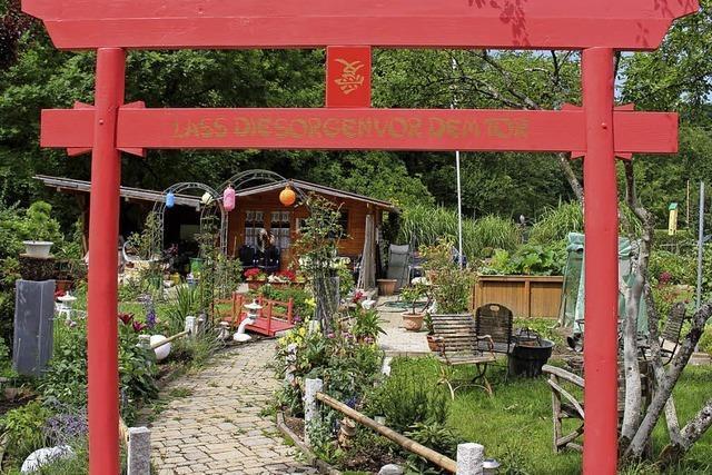 Gartenfreunde laden zum Fest