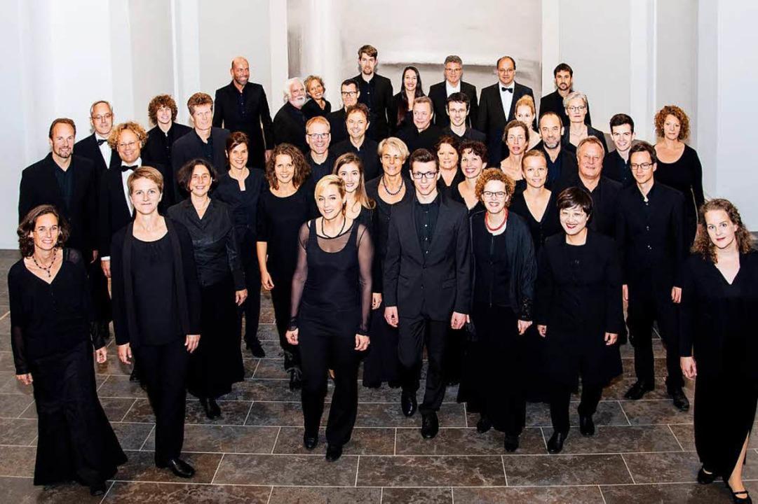 Ein Kammerchor der Extraklasse: die Camerata Vocale Freiburg  | Foto: Ellen Schmauss    Photography