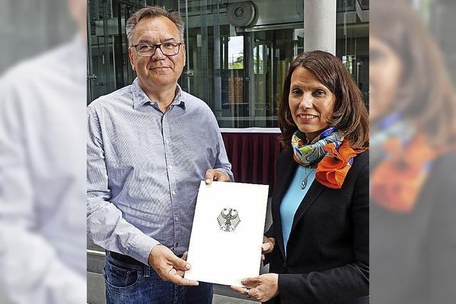 Auszeichnung aus Berlin für Gundelfingen