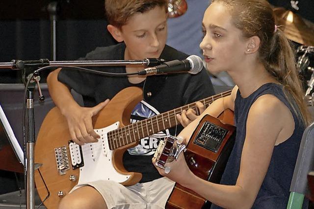Eine Bühne für junge Talente der Jugendmusikschule