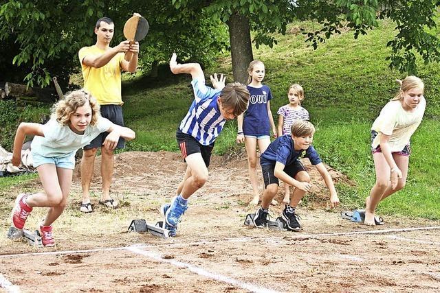 Sportlicher Wettkampf mit viel Spaß