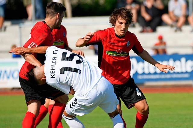 SC Freiburg besiegt FV Kehl mit 7:1 – mit Caglar Söyüncü