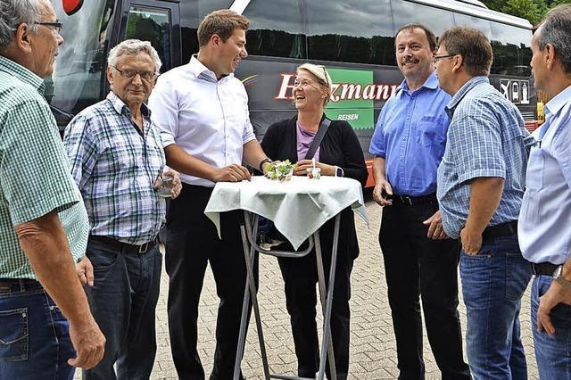 CDU hört in den Ortschaften viel Lob