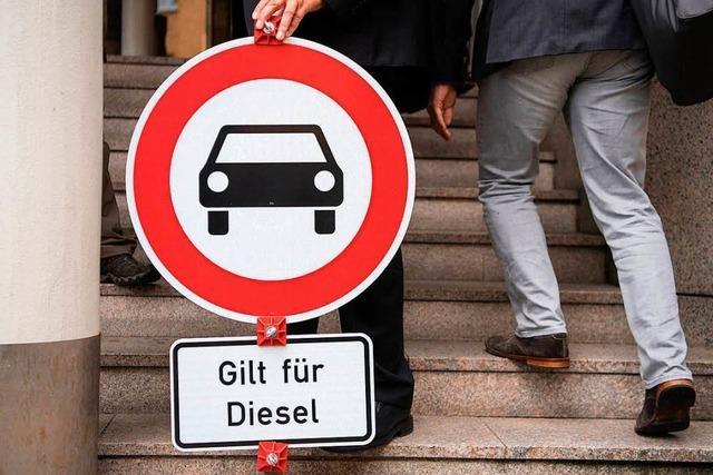 Grün-Schwarz vertagt Gespräche über Diesel-Fahrverbote