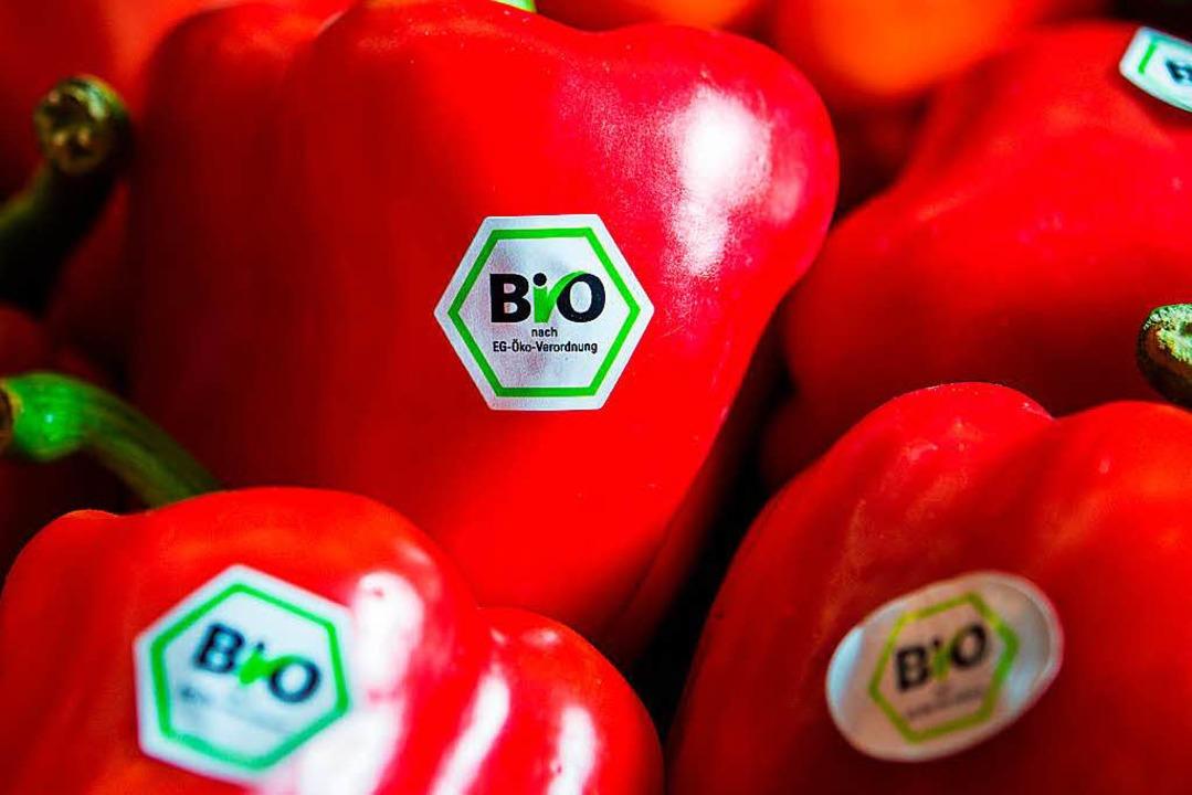Bei der Bio-Zwang-Idee der Grünen sahen die Bauern Rot.  | Foto: dpa