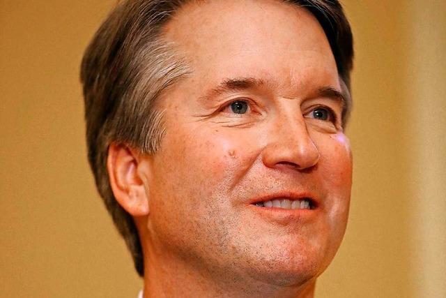 Der konservative Brett Kavanaugh soll neuer Richter am höchsten US-Gericht werden