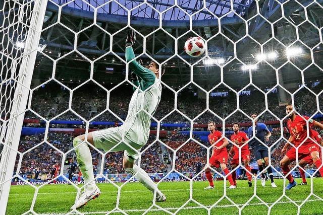 Frankreich steht im Finale der Fußball-WM