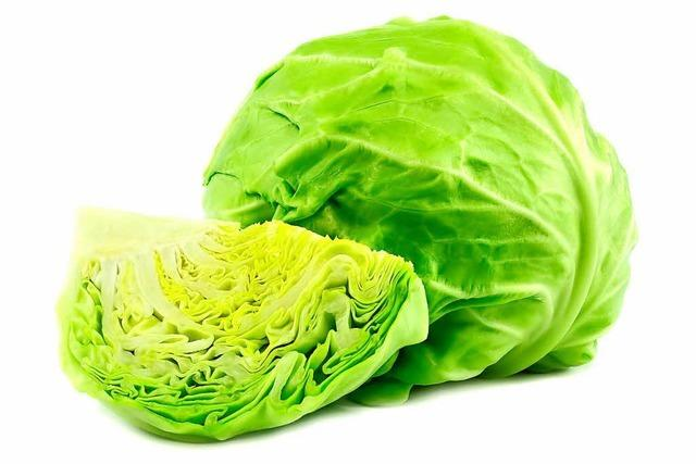 Vitamin C in Grün: der Weißkohl