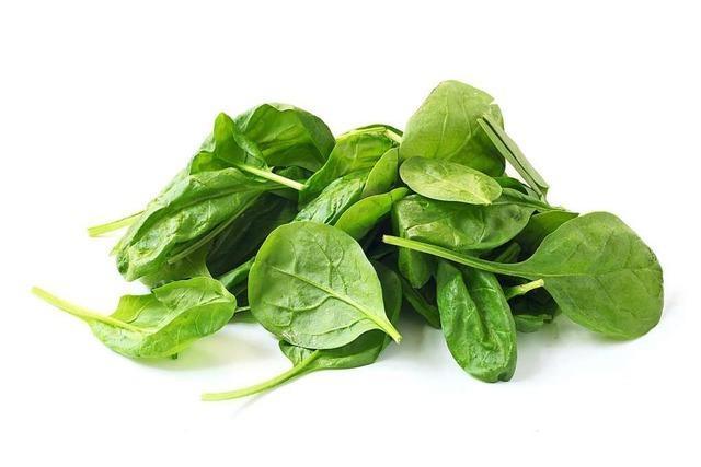 Grüner Augenschutz: der Spinat