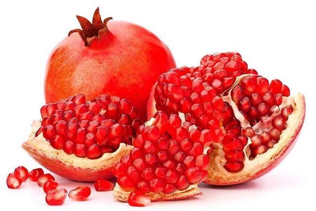 Einzigartige Kombination: der Granatapfel