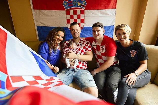 Freiburgs Kroaten sind im WM-Fieber – und gucken in einer Kneipe im Stühlinger