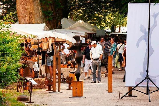 Bauerngärten und Kunsthandwerkermarkt