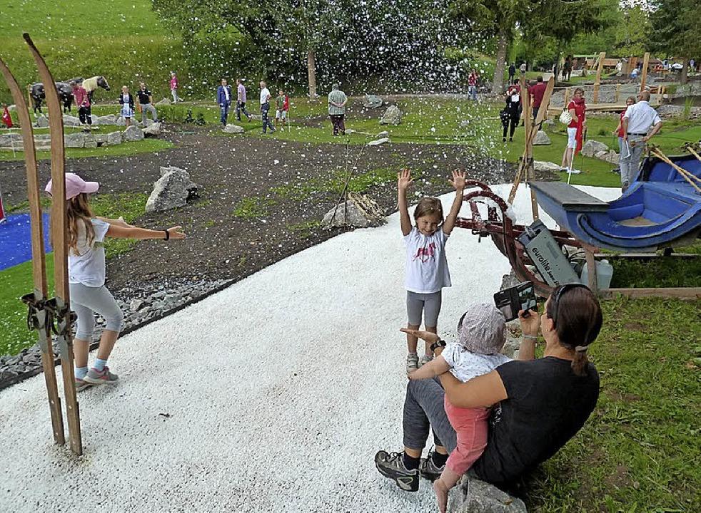 Mit dem neuen Abenteuer Golfpark in Ka...der Jury  wichtige Punkte zu sammeln.   | Foto: Heidrun Simoneit
