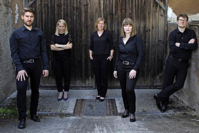 Scheunenkonzert mit Vokalensemble Five Line in Schweighausen