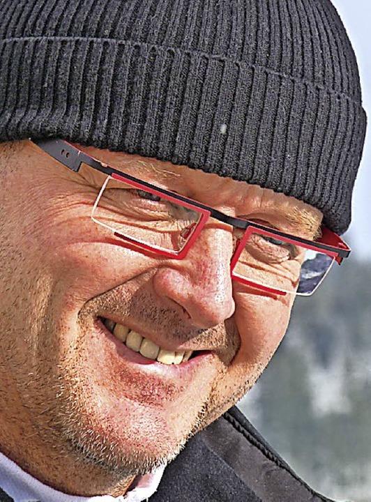 Ein Freund seiner Athleten: Landestrainer Rolf Schilli      Foto: bachmann