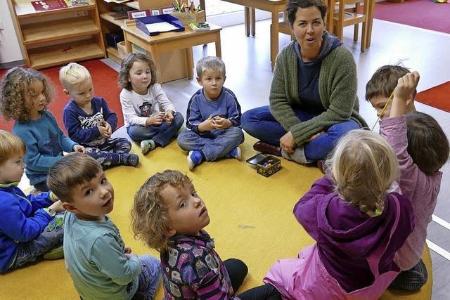 Kindergarten braucht mehr Personal