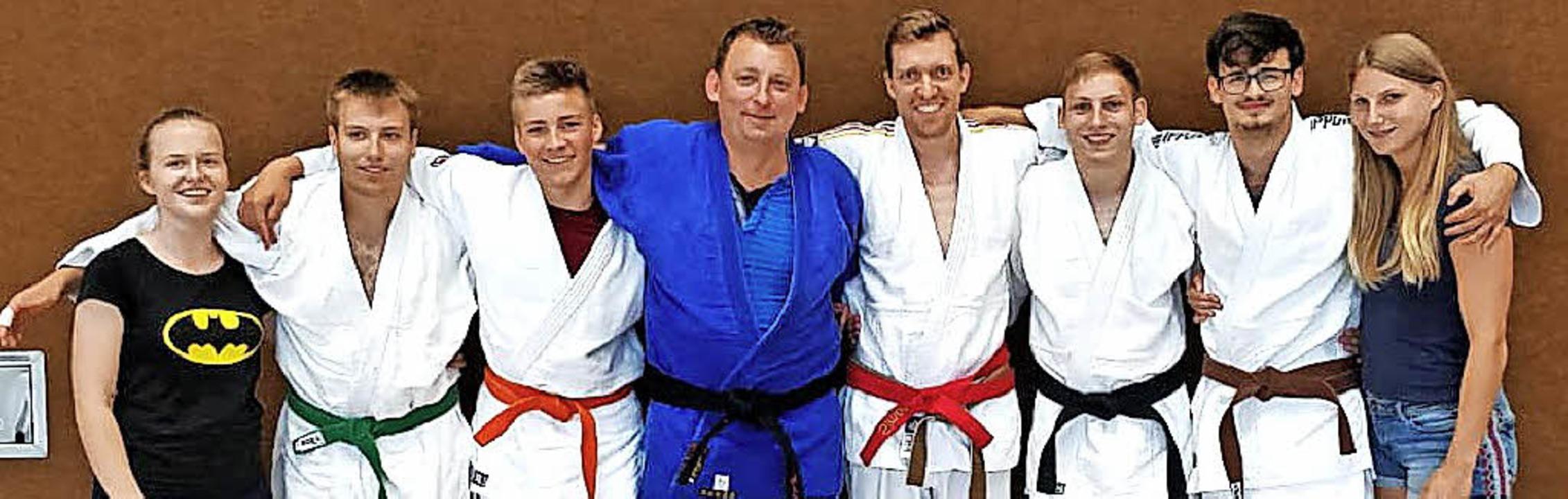 <BZ-FotoAnlauf>Judoclub Bad Krozingen:... Roman Soljankin und Christina Daiger   | Foto: Verein