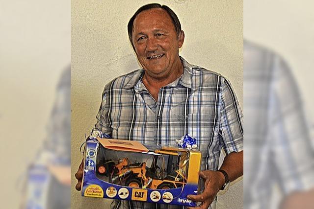 Bauhofleiter in Ruhestand verabschiedet