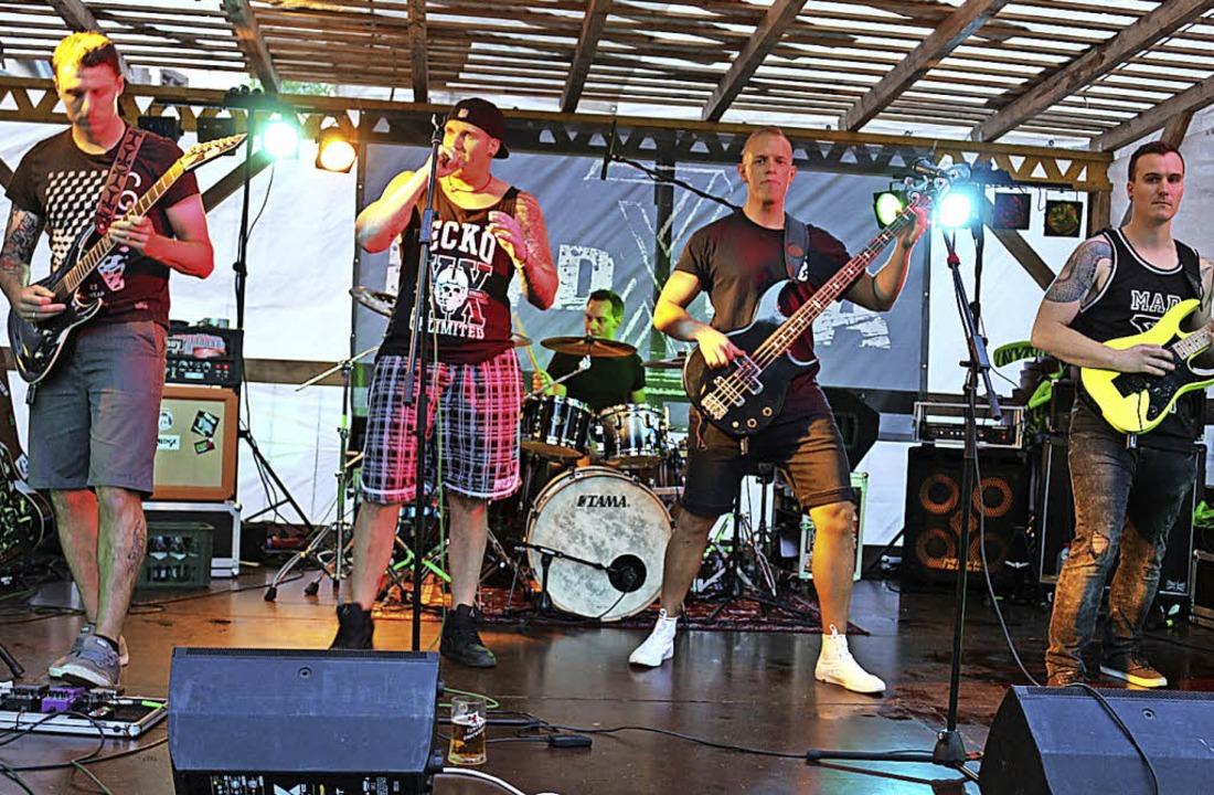 Die Band MadEra begeisterte mit Cross-Over.     Foto: Fotos: Karin Heiss